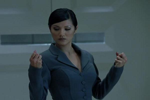 Kelly Hu as Lady Deathstrike in X-Men 2. | Lady